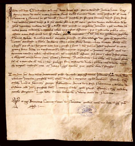 Exle Of Notarized Document