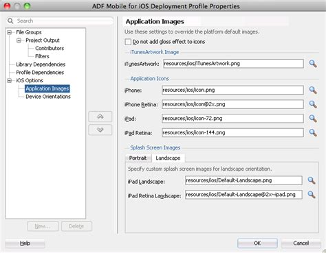 adf mobile application deploying adf mobile applications