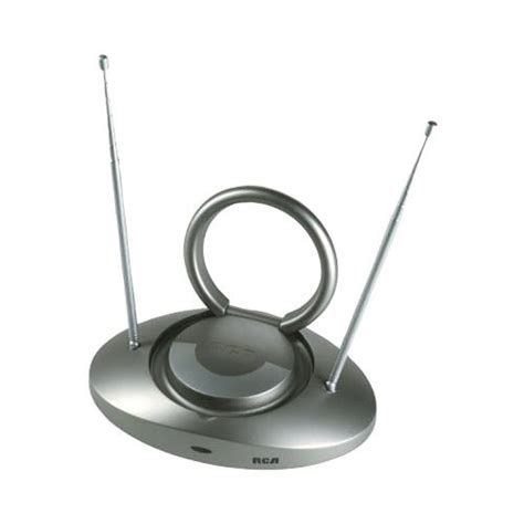 rca ant301 led hdtv antenna 6 of 75 ohm coaxial cable receives digital tv broadcasts and