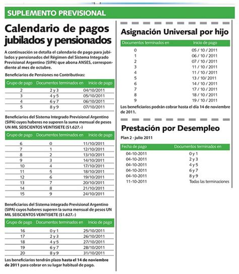 calendario de fecha de pago de jubilados download pdf calendario jubilacion anses octubre 2017 download pdf