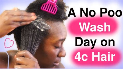 4c Hair Detox by Clean 4c Hair Without Using Shoo Wash Day