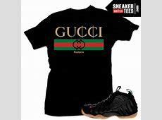 Gucci Foamposite t shirts | t shirts to match Sneakers ... Jordan 12 French Blue Shirt