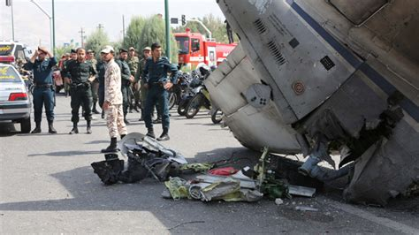news iran 39 killed as airliner crashes near tehran s mehrabad