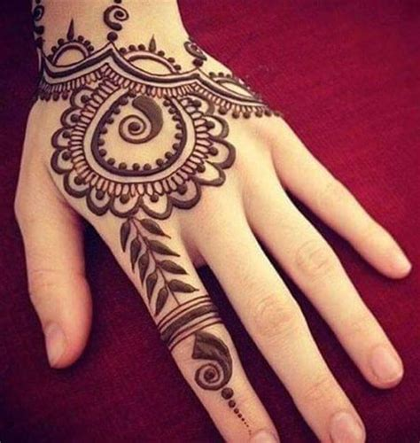beautiful best simple arabic eid mehndi designs for