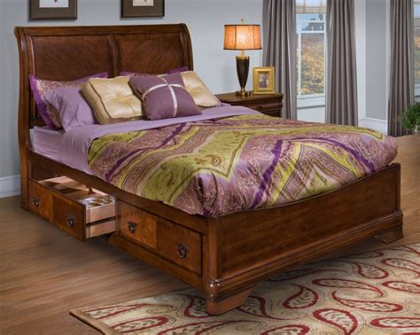 bedroom furniture discounts new classic sheridan storage bed set in burnished cherry