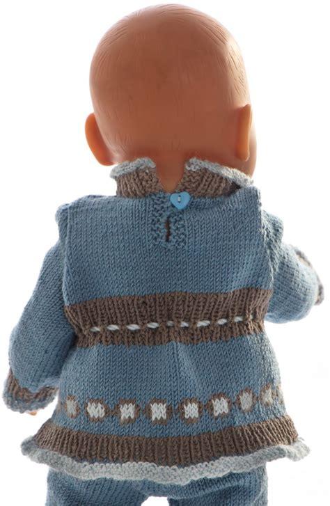 knitting pattern en español breipatronen poppen