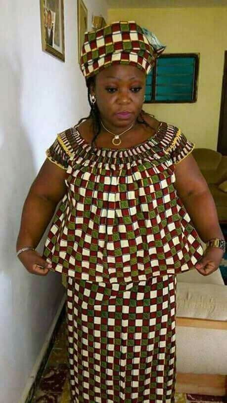 Simple Ankara Long Dresses