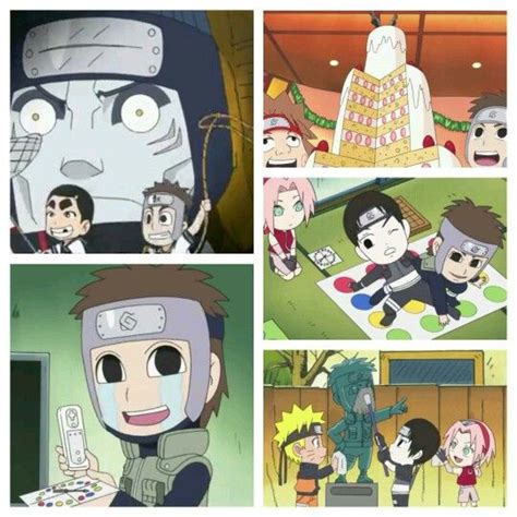 rock and his pals yamato s appearances in narutosd rock and his