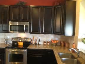 espresso painted kitchen cabinets our building with ryan homes venice june 2012