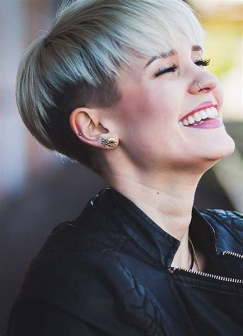 short hairstyles for thin hair uk 25 best ideas about shaved pixie cut on pinterest pixie