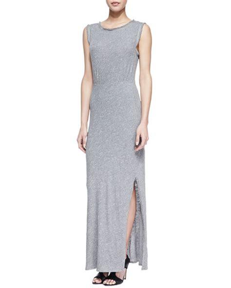 Nem Sarina Maxi free sabrina maxi dress gray