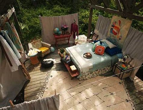 outdoor bedroom furniture summer decorating ideas for beds inviting to sleep outdoors