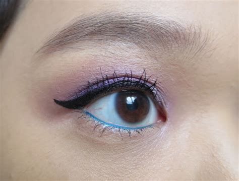 Eyeliner Teal the blackmentos box mytical purple with teal