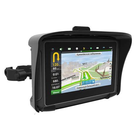 Motorcycle GPS Navigator Waterproof IPX7 Moto Bicycle GPS
