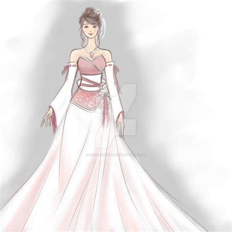 Yuna Top Purple Veyl wedding dresses japanese designers mybestweddingplan