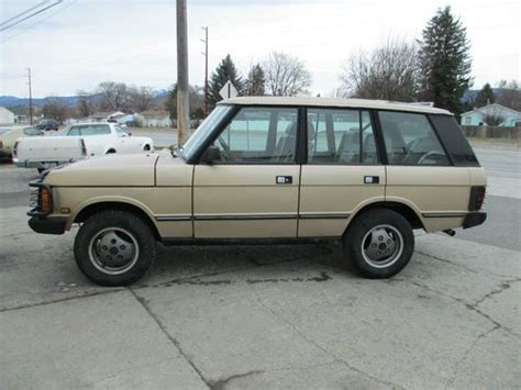 how to sell used cars 1991 land rover range rover seat position control sell used 1991 land rover range rover county in spokane washington united states