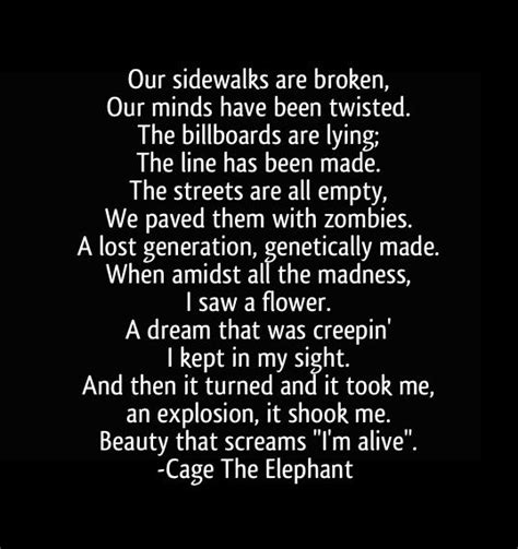 Elephant In The Room Lyrics by Caged Quotes Quotesgram
