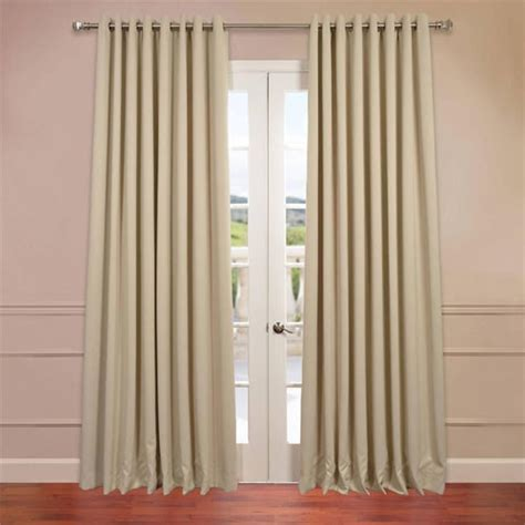 how wide should grommet curtains be stone 120 x 100 inch double wide grommet blackout curtain