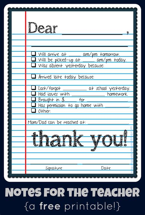 reminder templates for teachers parent notes from teachers templates jerry s