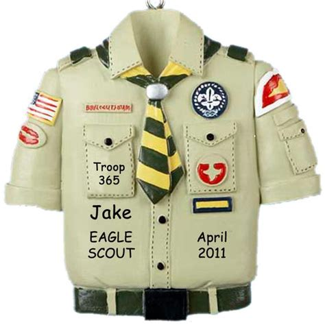 eagle scout ceremony christmas ornament personalized shirt