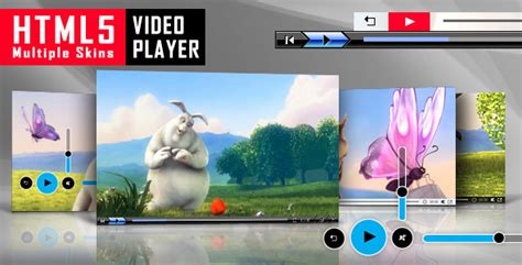 html5 video player with multiple skins by lambertgroup
