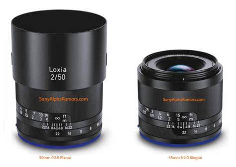 Hemat Lensa Zeiss Loxia 2 0 50 Manual Frame Lenses For Sony pictures of zeiss rumored loxia lenses leaked will arrive early next week