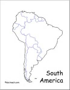 south america map without labels map south america abcteach