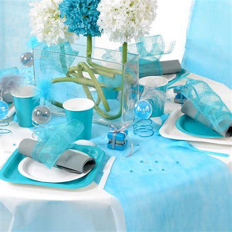 Decoration De Table Bleu Turquoise by D 233 Coration De Mariage En Bleu Turquoise Id 233 Es Et D