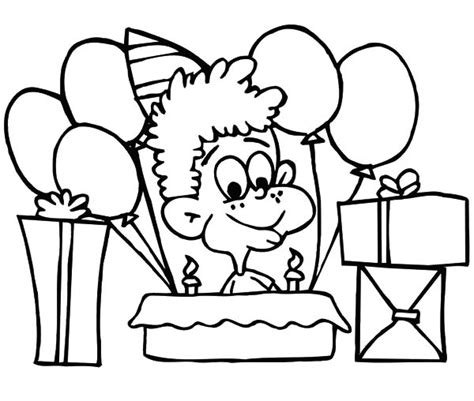 Birthday Cake Coloring Games Image Inspiration Of Cake Birthday Coloring Pages For Boys Free