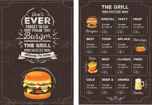 Restaurant menu templates vector huge collection restaurant menu psd
