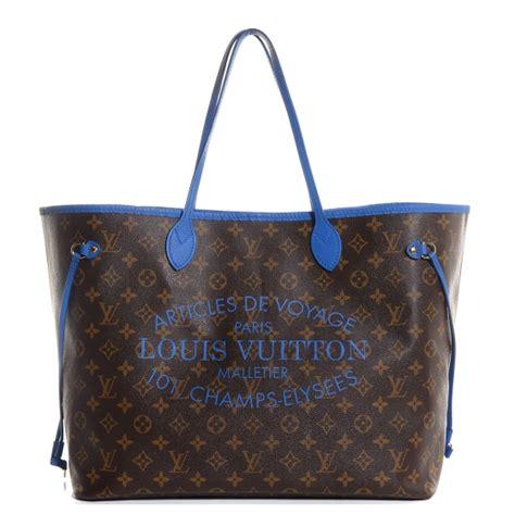 Ikat Pinggang Louis Vuitton Lv Mono Initial Belt Original louis vuitton monogram ikat neverfull gm grand bleu 88555