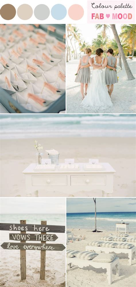 colour themes for beach wedding beach wedding colors ideas beach wedding palettes