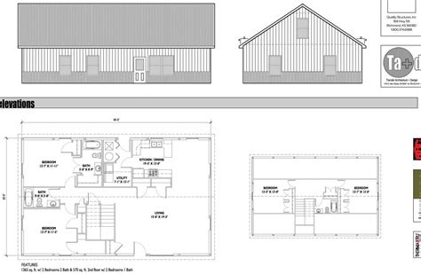inside plan a remarkable work of is evident in the inside layout of this metal home erected by quality