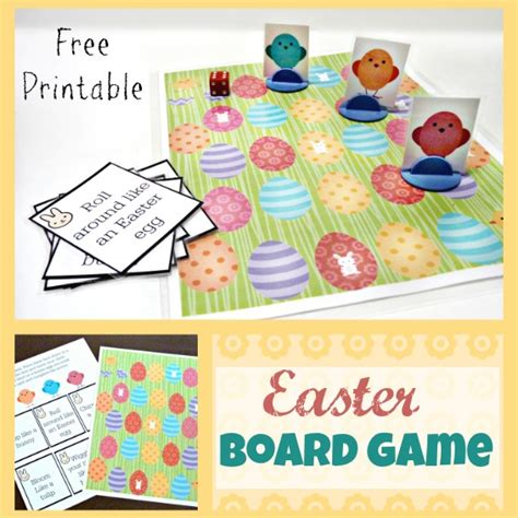 printable board game coupons free printable easter board game free homeschool deals