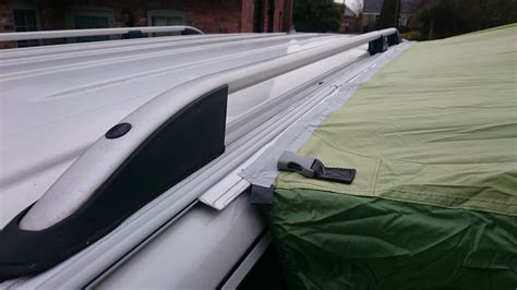 Vw T5 Awning Rail by Vw T5 Bolt On Awning Rail Roof Rail Spacer System Option 3