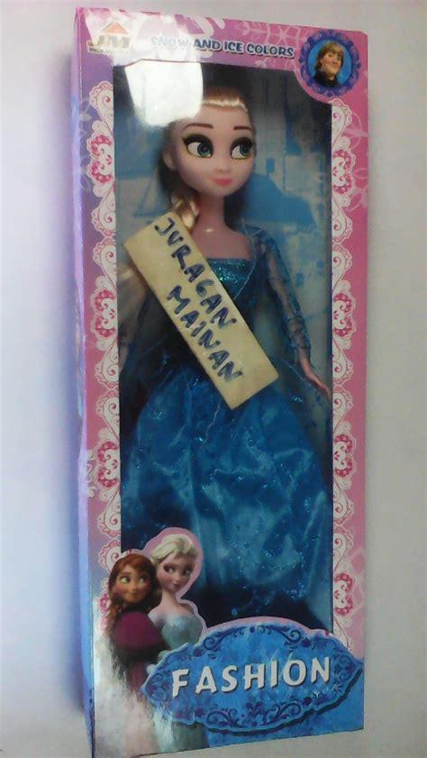Mainan Anak Murah Strika Frozen jual mainan boneka frozen ekslusif karakter elsa juragan