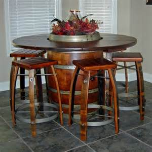 Wine Barrel Dining Table Loft Episodes Dining Tables