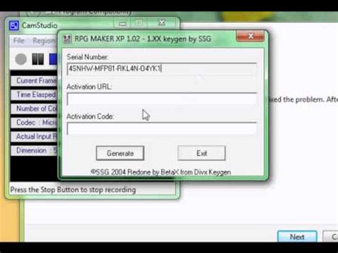 RPG Maker VX how to install with Keygen - YouTube