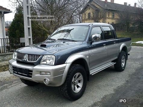 mitsubishi pickup 2005 dimension garage mitsubishi pick up l200