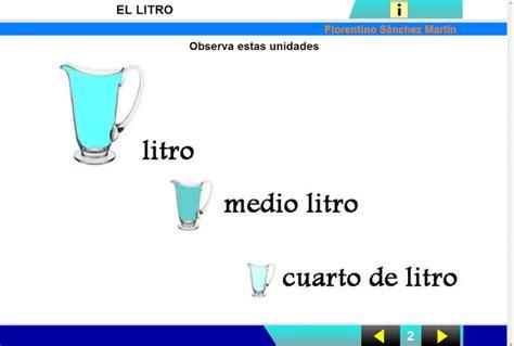 litros y litros de 8494340263 el 193 rbol del saber litro medio y cuarto