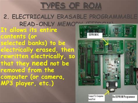 computer memory types functions