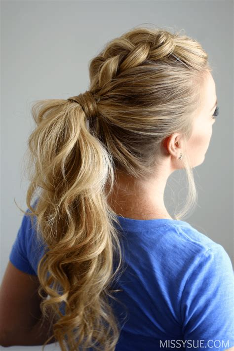 how to do ponytail hairstyles hair is our crown dutch mohawk ponytail