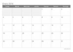 En El Calendario Calendario Enero 2016 Para Imprimir Icalendario Net