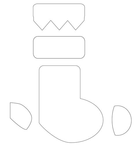 printable christmas stocking template maori printables christmas stocking template