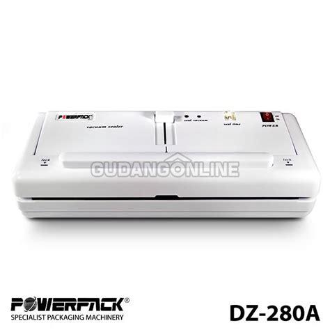powerpack vacuum sealer mesin pengemas makanan vakum dz