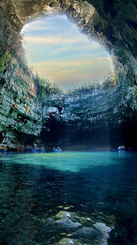 greece ionian islands iphone wallpaper hd
