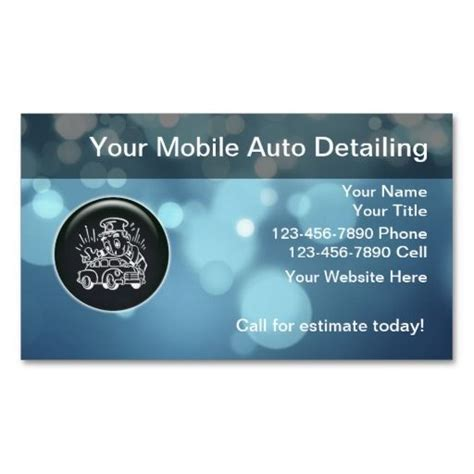 car cleaning business card template 78 best images about auto detailing business cards on