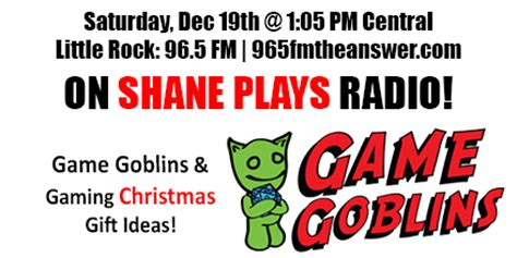 podcast christmas presents gaming gift ideas radio show podcast episode 30 shane plays