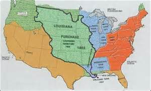 united states map louisiana purchase resourcesforhistoryteachers grade 5 early united states