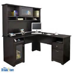 Corner Desk Computer Workstation L Shaped Computer Desk Hutch Office Workstation Home Corner Table Furniture Ebay